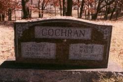 """Mary Frances """"Mae"""" <I>Cummins</I> Cochran"""