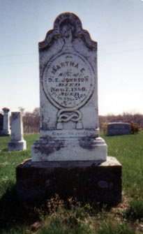 Martha E. <I>Nickerson</I> Johnson