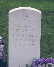 Juanita Joyce <I>Boone</I> Barham