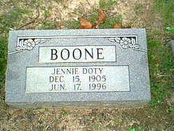 Jennie Doty Boone