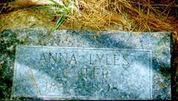 Anna Saphira <I>Lyles</I> Lester