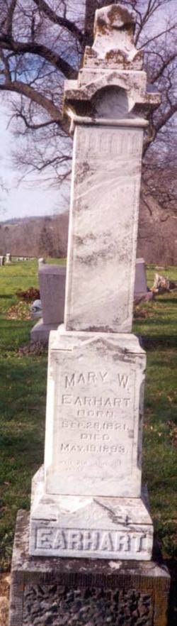 Mary Wells <I>Patton</I> Earhart