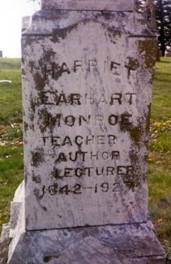 Harriet <I>Earhart</I> Monroe