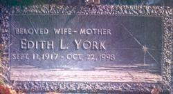 Edith L. York