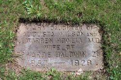 Mary <I>Howell</I> Baldwin