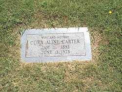 Cora Aline <I>Hudson</I> Carter