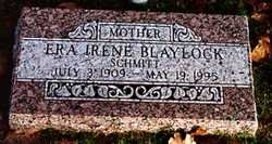 Era Irene <I>Gibson</I> Blaylock
