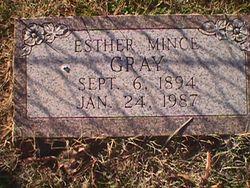 Esther B. <I>Callaway</I> Gray