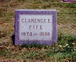 Clarence Eldred Fife