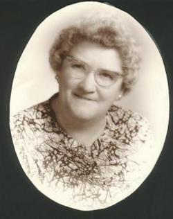 Flora E. <I>Knisely</I> Baxter