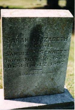 Sarah E. <I>Sparks</I> Sennett