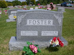 "Georgia Josephine ""Jo"" <I>Shumacher</I> Foster"