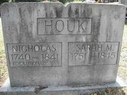 Sarah <I>Mauser</I> Houk