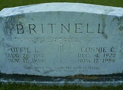 Connie C. <I>Lundy</I> Britnell