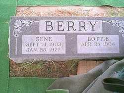 """Eugene Brown """"Gene"""" Berry"""