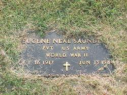Pvt Eugene Neal Saunders