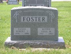 """Robert J """"Bob"""" Foster"""