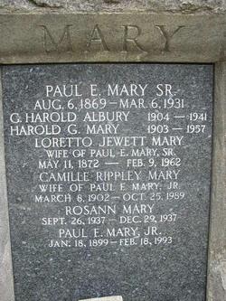 G. Harold Albury