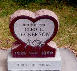Cleo L <I>Myers</I> Dickerson