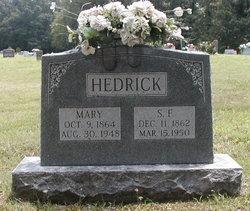 Mary <I>Baker</I> Hedrick