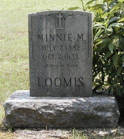 Minnie <I>Hedrick</I> Loomis