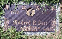 Mildred Rebecca <I>Edelen</I> Barr