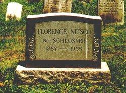 Florence <I>Schlosser</I> Nitsch