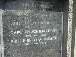 Anna J. <I>Kurth</I> Schiebert