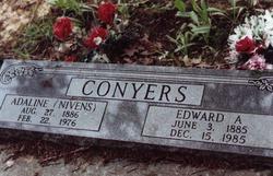 Adaline <I>Nivens</I> Conyers