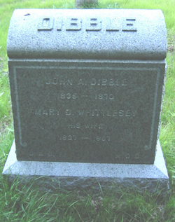 Mary D. <I>Whittlesey</I> Dibble