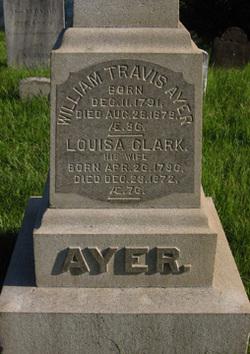 Louisa <I>Clark</I> Ayer