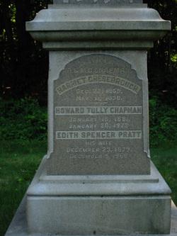 Edith Spencer <I>Pratt</I> Chapman