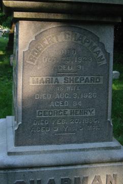 Maria <I>Shepard</I> Chapman