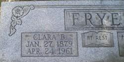 Clara Belle <I>Phillips</I> Frye