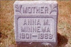 Anna M <I>Stoel</I> Minnema
