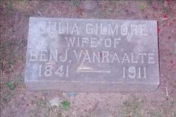 Julia <I>Gilmore</I> Van Raalte