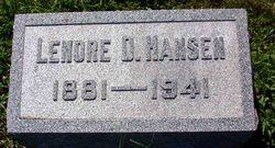 Lenore D. Hansen