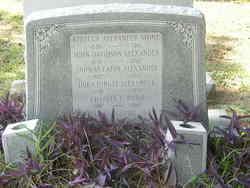 Rebecca <I>Alexander</I> Stone