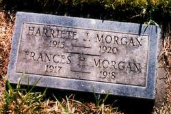 Harriete J Morgan