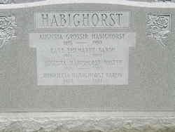 Augusta <I>Grossir</I> Habighorst