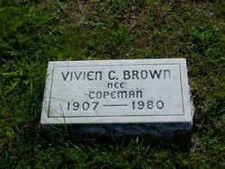 Vivien C. <I>Copeman</I> Brown