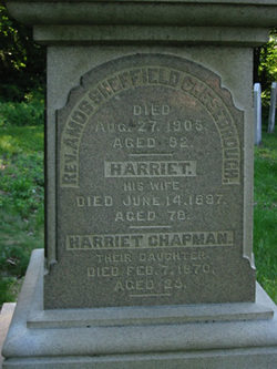 Harriet Elizabeth <I>Chapman</I> Chesebrough