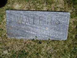 Martha E. <I>Metcalf</I> Waters