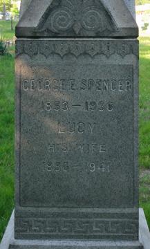 Lucy Lucretia <I>Howard</I> Spencer