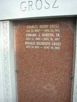Charles Henry Grosz