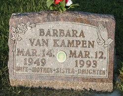 Barbara Jean <I>Wyma</I> Van Kampen