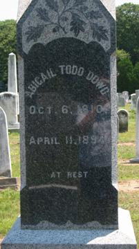 Abigail Todd Dowd