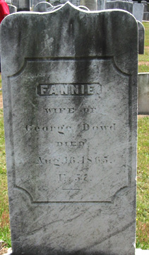 Fannie Dowd