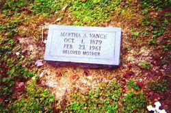 Martha A Vance