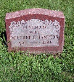 Mildred Edna <I>Williams</I> Hampton